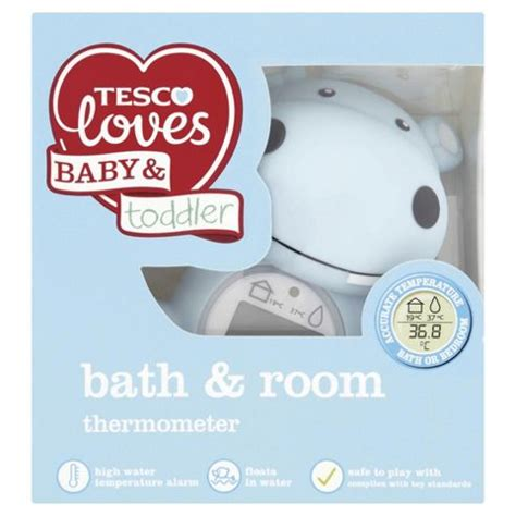 bath and room thermometer buy tesco baby bath room thermometer from our thermometers range tesco