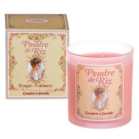 Bougie Comptoir De Famille by Bougie Poudre De Riz Comptoir De Famille Provence Ar 244 Mes