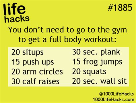 good hack ideas code good little at home workout no excuses kc health