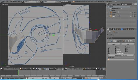 tutorial de blender v 237 deo tutorial modelando o capacete do iroman no blender 2 62