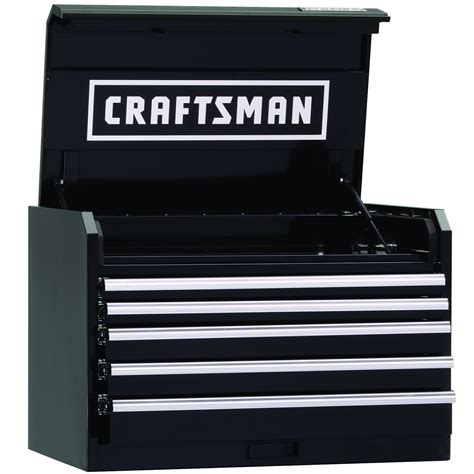 craftsman 5 drawer tool chest craftsman 36 quot wide 5 drawer industrial grade top chest