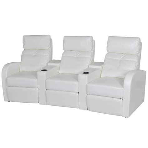 3 seat recliner sofa artificial leather home cinema recliner reclining sofa 3