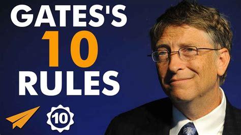 bill gates success biography bill gates s top 10 rules for success topnaija
