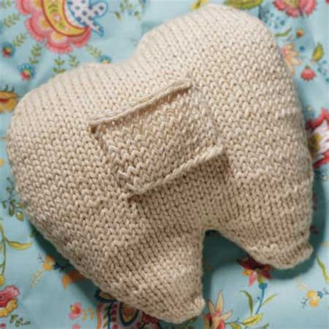 Tooth Pillow Pattern by Knitting Patterns And Crochet Patterns From Knitpicks