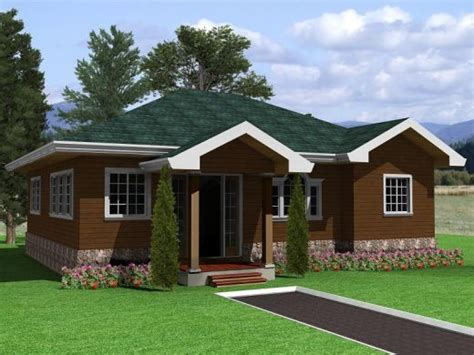 countryside house plan house and bungalow