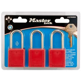 Safety Padlock No 420 model no 420d hasps master lock