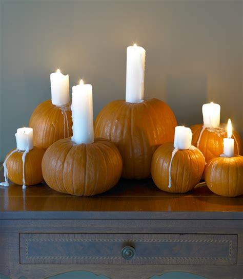 Pumpkin Candle 19 Inspiring Creative Ways To Decorate A Pumpkin