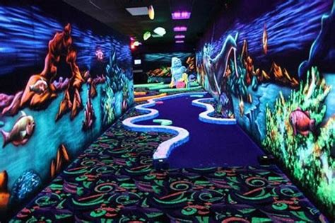 glow in the mini golf 2 picture of oceans 18 new bedford tripadvisor
