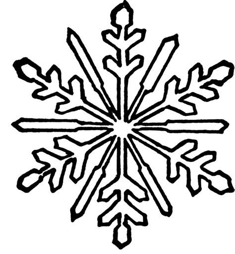 snowflake coloring pages getcoloringpagescom