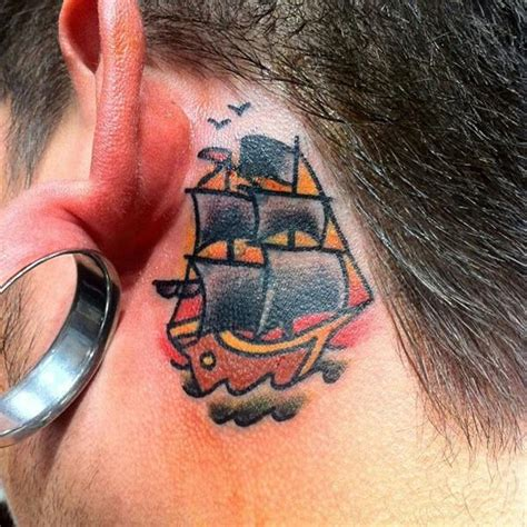 unique tattoo behind ear behind the ear tattoo 55 different suggestions