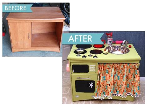 play kitchen reinvented from old furniture for my my baton rouge mommy diy from old furniture pieces to