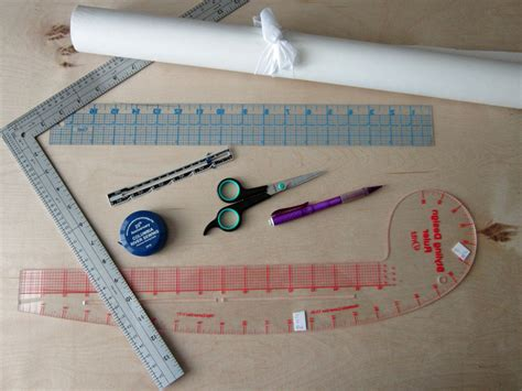 pattern drafting materials draft your own bodice block pattern cutting course