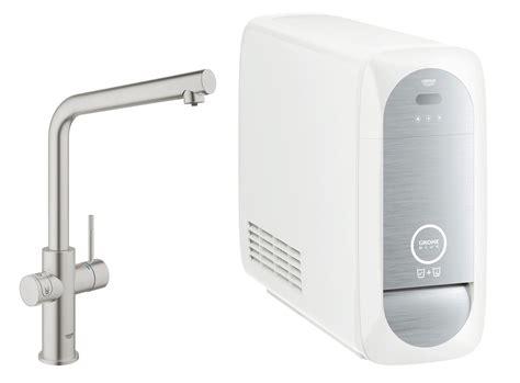 acqua frizzante dal rubinetto di casa grohe blue 174 home dal rubinetto anche acqua filtrata