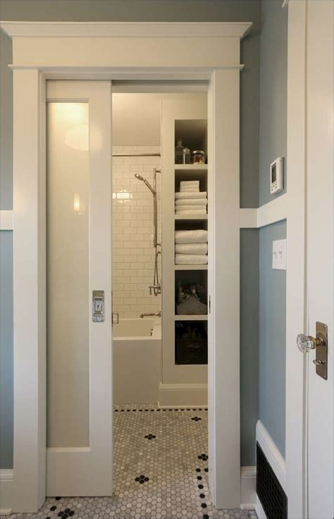 bathroom door ideas 1900 1919 arciform portland remodeling design build