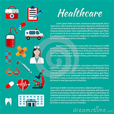 poster design health healthcare and medical poster design stock vector image