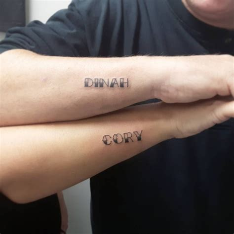 couple name tattoos tattoo collections
