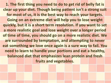 how to get rid of fat get rid of belly fat fast without magic pills