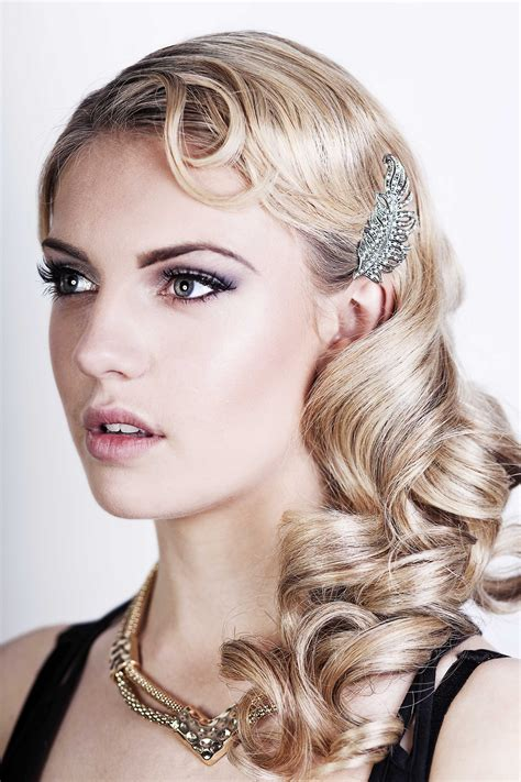 Photos Of Hairstyles That Are Longer On The One Side | great gatsby prom hairstyles for long hair hairstyles