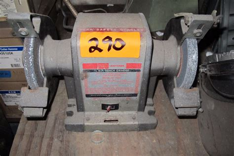 bench grinders made in usa craftsman bench grinder 1 3 hp made in usa model 397 19391