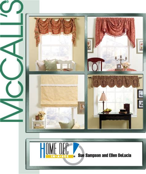 Window Treatment Patterns by Mccall S 4854 Window Treatments
