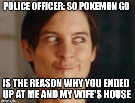 Police Wife Meme - spiderman peter parker meme imgflip