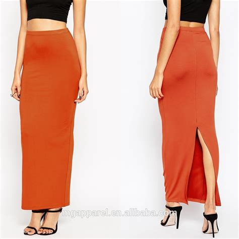 skirt design pleated maxi skirt