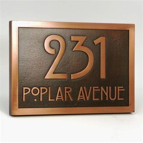 Home Decor Cool Address Plaques Pin By On For The Home