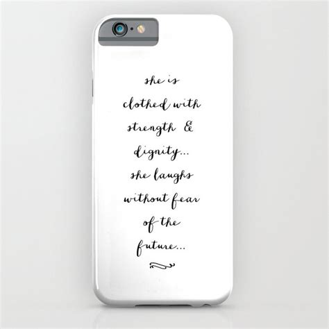 she is b w iphone ipod by pocket fuel society6