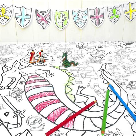 seaside colour in tablecloth eggnogg colouring in colour in tablecloth puzzletime choice of two by eggnogg