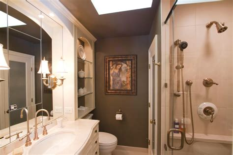 Idea For Small Bathroom Master Bath Decorating Ideas 2017 Grasscloth Wallpaper