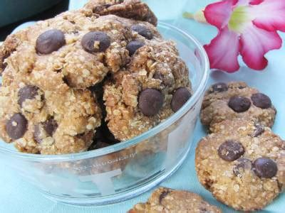 membuat kue oat resep kue oat choco chippies