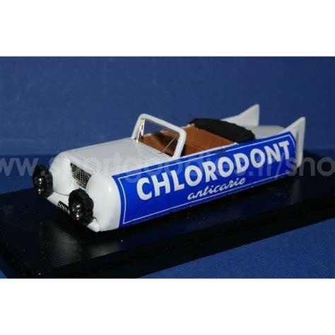 tub d italia auto cholorodont caravan giro 1952