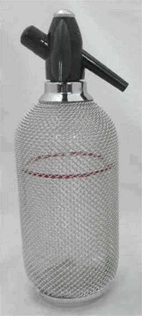 classic glass mesh soda siphon glass soda syphon 1 liter