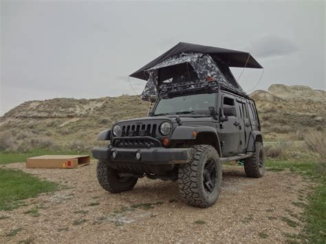 Jeep Jk Tent The Tepui Kukenam Roof Top Tent Vagabond Expedition