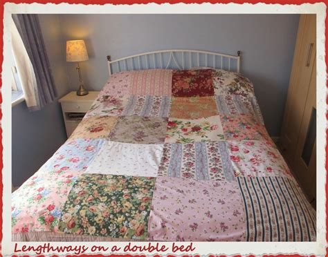 large patchwork squares bedspread quilt quilting