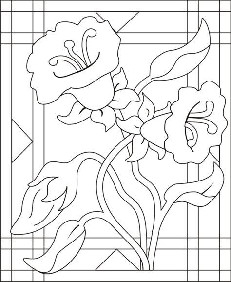 imagenes para pintar vitrales vitral para colorir az dibujos para colorear