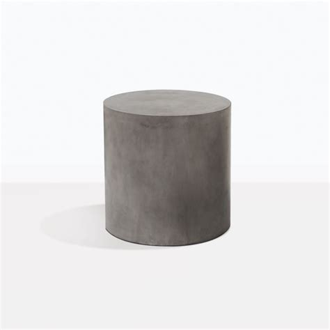 small blok concrete  side table outdoor furniture