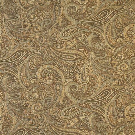 brown paisley upholstery fabric brown gold and blue paisley contemporary upholstery grade