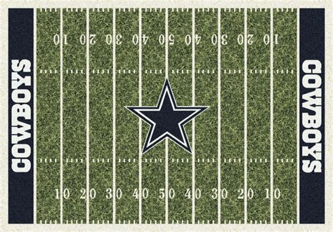 Dallas Cowboys Area Rug Dallas Cowboys Milliken Nfl Home Field Sports Area Rug Ebay