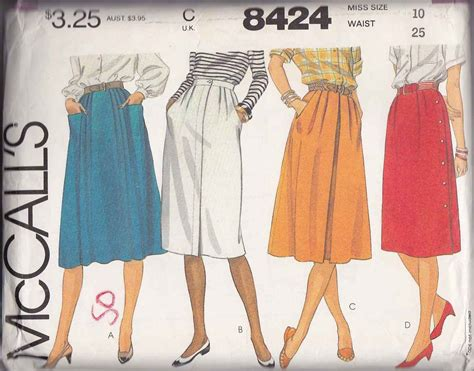 mccall s sewing pattern 8424 misses size 10 pleated a line