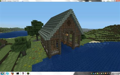 a boat house boat house minecraft project