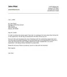Resign Letter Sle Free by Sle Of Airline Pilot Resignation Letter Http Resumesdesign Sle Of Airline Pilot