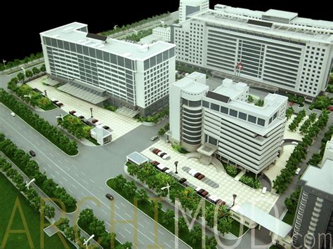 Building Design Plan archimod hospital models
