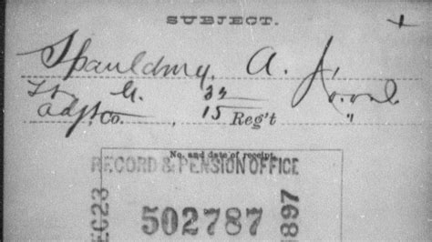 Civil War Records By State Millions Of Civil War Records Now Available On Familysearch Website
