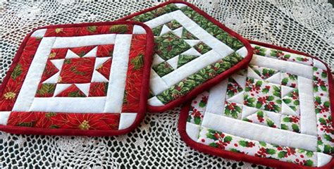 potholders for any season quilting digest