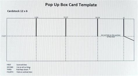 gift box pop up card template craft room ster stin up botanical blooms pop up