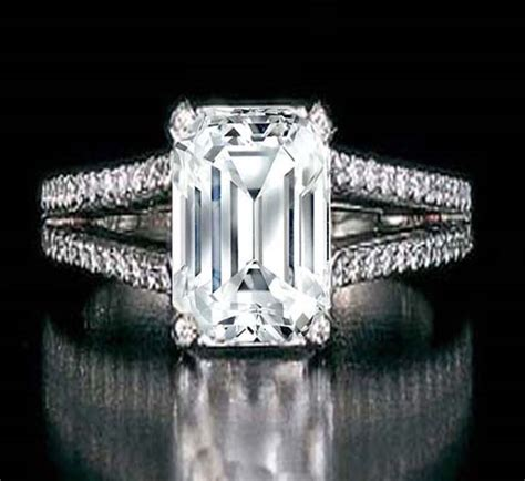 emerald engagement rings from mdc diamonds nyc