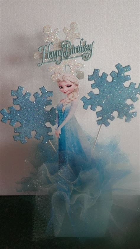 frozen centerpiece frozen party ideas pinterest
