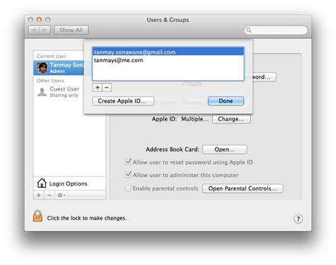 apple reset password how to reset recover os x lion password the apple daily