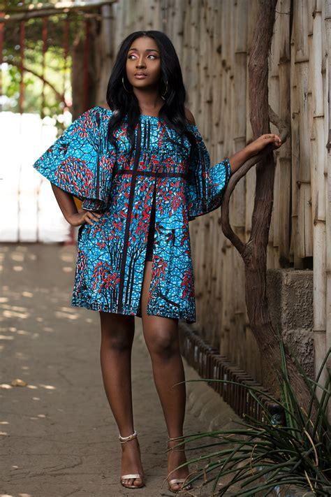 pinterest ankara styles african printed split dress african dresses pinterest